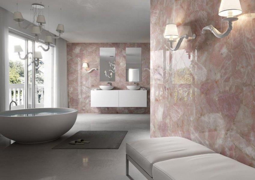 ванная комната из камня