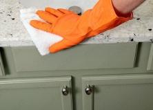 Как в домашних условиях очистить гранит и сделать его блестящим